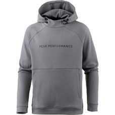 Peak Performance Pulse Hoodie Herren grey melange