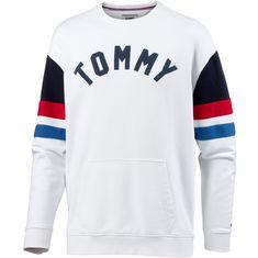 Tommy Jeans Sweatshirt Herren classic white-multi