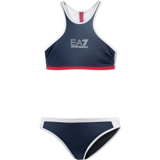 EA7 Emporio Armani Sea World Bikini Set Damen navy blue