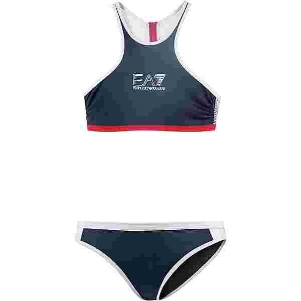 EA7 Emporio Armani Sea World Bikini Set Damen navy blue