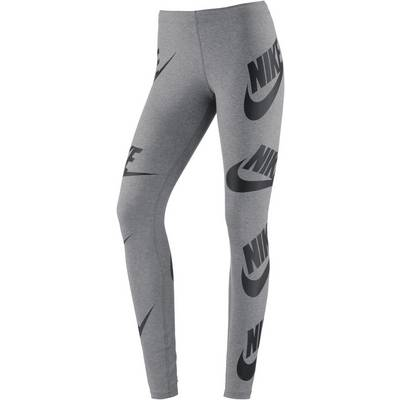 Nike Leggings Damen grey-white