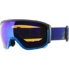 ALPINA Scarabeo MM Skibrille trans. blue-black