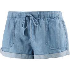 Volcom SUNDAY STRUT Hot Pants Damen LIGHT BLUE