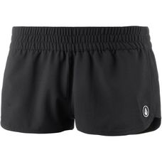 "Volcom SIMPLY SOLID 2"" Boardshorts Damen BLACK"