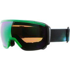 ALPINA Scarabeo MM Skibrille trans. green-black