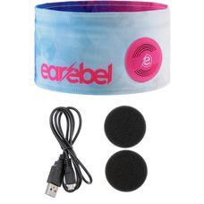 earebel Bluetooth Kopfhörer Maricou Stirnband weiß-pink