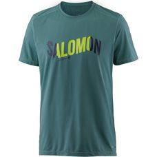 Salomon COSMIC LOGO T-Shirt Herren North Atlantic