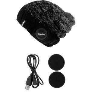 earebel Bluetooth Kopfhörer Lifestyle Anam Beanie schwarz-grau
