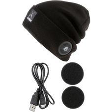 earebel Bluetooth Kopfhörer Lifestyle Oak Beanie schwarz