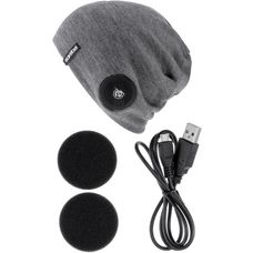 earebel Bluetooth Kopfhörer Lifestyle Bearwood Beanie grau