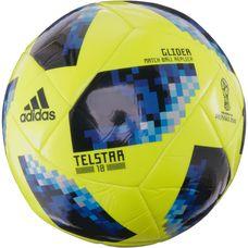 adidas World Cup Glider Telstar 18 Fußball solar yellow/solar blue/bright royal