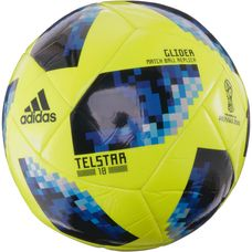 adidas World Cup Glider Telstar 18 Fußball solar yellow/solar blue/bright royal