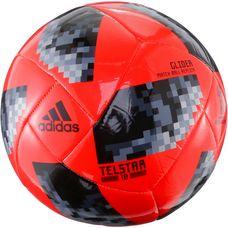 adidas World Cup Glider Telstar 18 Fußball solar red/black/silver met.