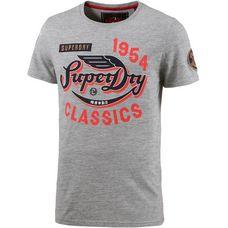 Superdry Printshirt Herren frontier grey