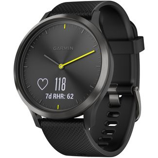 Garmin Vivomove HR Fitness Tracker schwarz