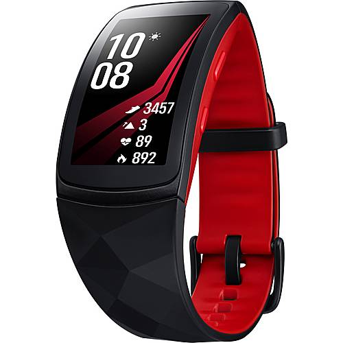 Samsung Gear Fit 2 Pro Fitness Tracker rot