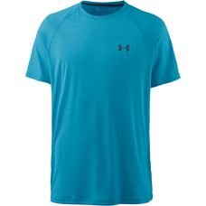 Under Armour Tech Funktionsshirt Herren blue-shift-stealth-gray