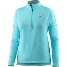 Nike Therma Sphere Element Laufshirt Damen polarizied blue-htr-polarized blue