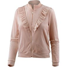 Only Sweatjacke Damen rose smoke
