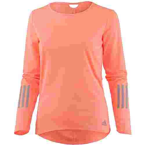 adidas Response Laufshirt Damen sun glow s16