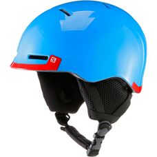 Salomon Grom Skihelm Kinder blue/red