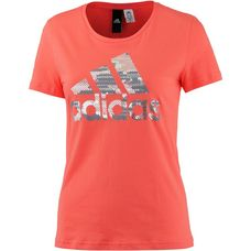 adidas Essential T-Shirt Damen easy coral s17