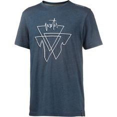 Maui Wowie Printshirt Herren denim