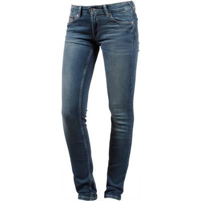 Tommy Jeans Skinny Fit Jeans Damen royal blue stretch