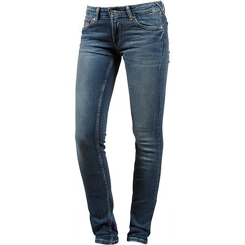Tommy Jeans Skinny Fit Jeans Damen royal blue stretch