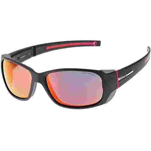 Julbo Monterosa Sportbrille Damen matt schwarz/rot