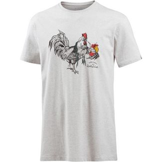 Quiksilver HTRROOSTERVIBE T-Shirt Herren SNOW WHITE HEATHER
