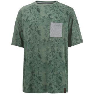 Maui Wowie Oversize Shirt Herren Oliv