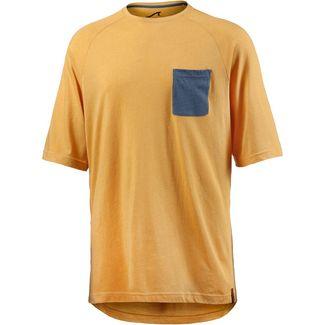 Maui Wowie Oversize Shirt Herren senf