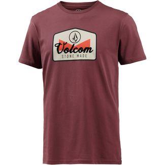 Volcom CRISTICLE T-Shirt Herren CRIMSON