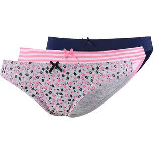 Superdry Slip Damen Pink Navy Ditsy
