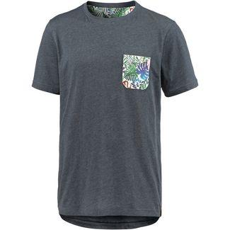 Maui Wowie Printshirt Herren dunkelgrau