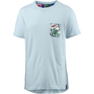 Maui Wowie Printshirt Herren hellblau