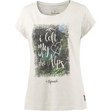 Alprausch Bergliebi T-Shirt Damen snow white