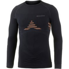 X-Bionic Kompressionsshirt Damen black-orange