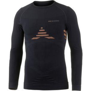 X-Bionic Kompressionsshirt Herren black-orange