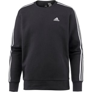 adidas Essential 3S Sweatshirt Herren black-white