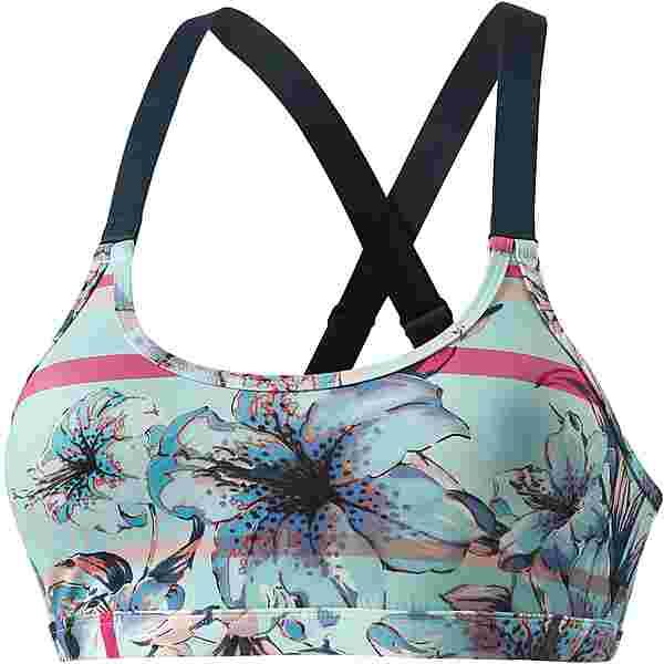 Roxy Lhassa LBRA3 Bikini Oberteil Damen BLUE LIGHT RAIN DAZE SMALL