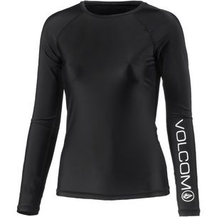 Volcom SIMPLY SOLID Surf Shirt Damen BLACK