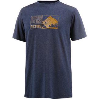 Picture KASE O T-Shirt Herren B Dark Blue