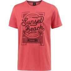 Protest STONE T-Shirt Herren New Red