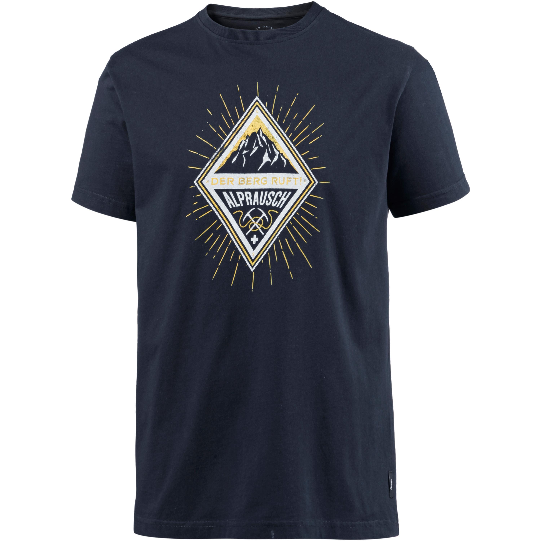 Image of Alprausch Der Berg ruft T-Shirt Herren