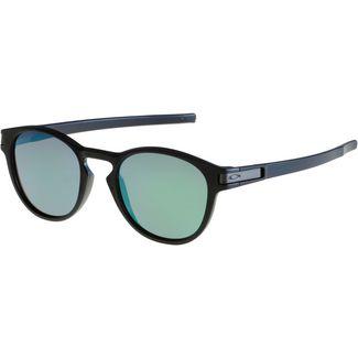 Oakley Latch Sonnenbrille matte black/prizm jade