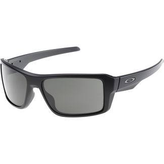 Oakley Double Edge Sonnenbrille matte black/dark grey