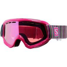 Salomon Juke Skibrille Kinder pink