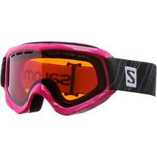 Salomon Juke Access Skibrille Kinder pink